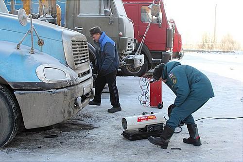 ВАромашевском районе cотрудники экстренных служб оказывают помощь водителям вморозы