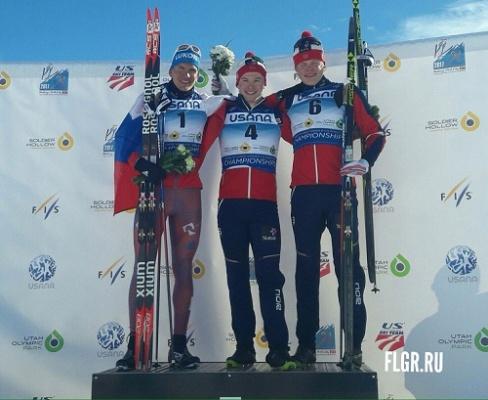 Брянский лыжник Александр Большунов завоевал серебро намировом первенстве