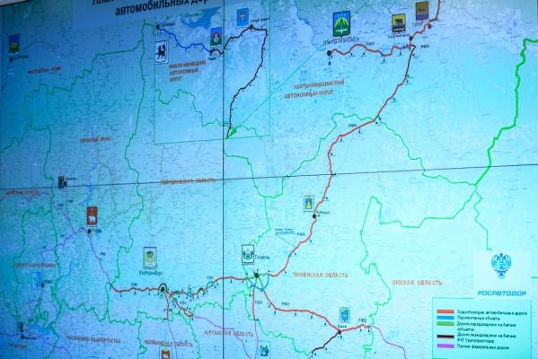 ВРосавтодоре решили сформировать транспортный коридор Тюмень-Салехард