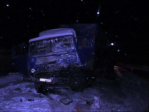 ДТП вТюмени: шофёр тягача «Man» убил водителя «КАМАЗа» прицепом