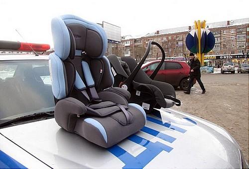 ВТюмени работники ГИБДД смотрят заперевозкой детей вавтомобилях