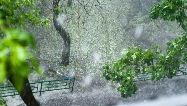 МЧС предупреждает о шквалистом ветре, грозе и граде