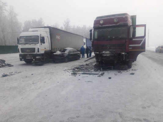 Натрассе Тюмень— Омск разбилась семья изАртемовского