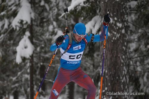 Биатлонист Александр Логинов снова одержал победу гонку наКубке IBU