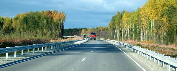 На трассе Тюмень - Тобольск - Ханты-Мансийск вводится реверсивное движение