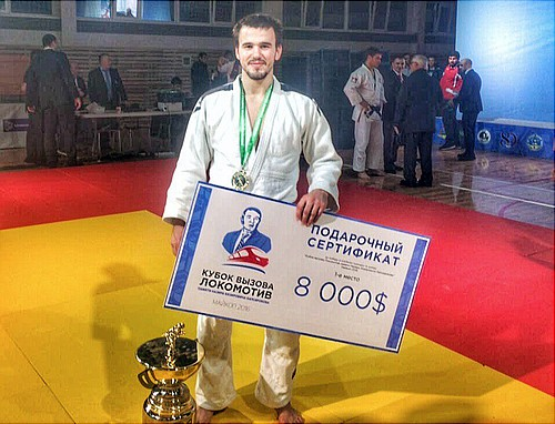 Международный турнир подзюдо проходит вМайкопе впервый раз с1972 года