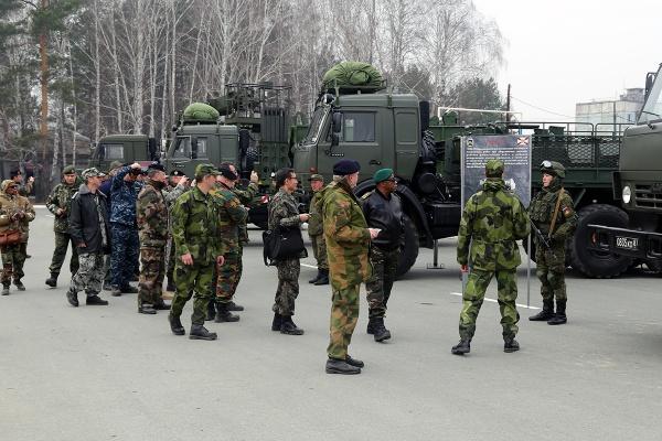ВТюмени развернется экспозиция боевой техники