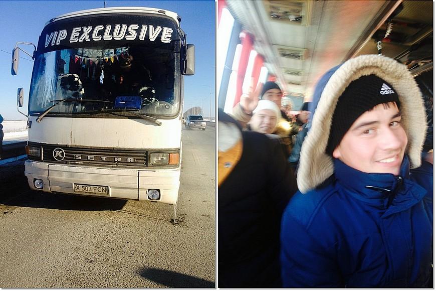 Под Тюменью взаглохшем автобусе замерзали 50 вахтовиков